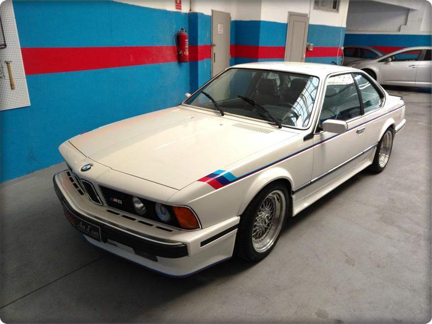 DETAILING ESPECIAL BMW M635i