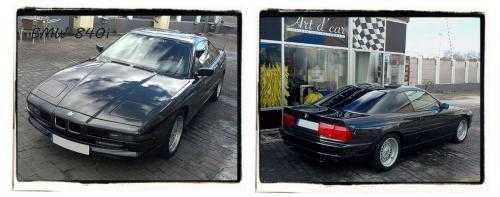 PULIDO COCHE CLASICO BMW 840 2